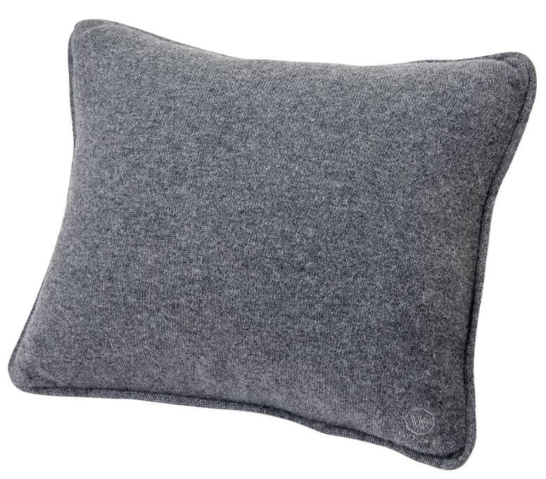 Waterworks Dolce Cashmere Travel Pillow in Gray