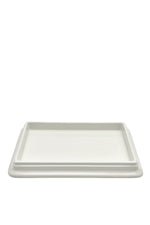 Waterworks Dorset Tray in Ivory Crackle