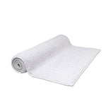 "Waterworks Duna Bath Rug 25"" x 72"" in White"