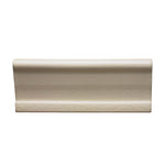 "Waterworks Architectonics Handmade Universal Empire Rail 2 3/8"" x 6"" in Pumice Glossy Crackle"