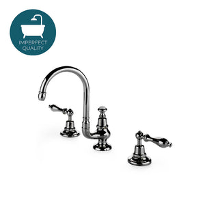 Waterworks Etoile Gooseneck Lavatory Faucet in Burnished Brass