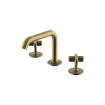 Waterworks .25 High Profile Lavatory Faucet in Antique Brass