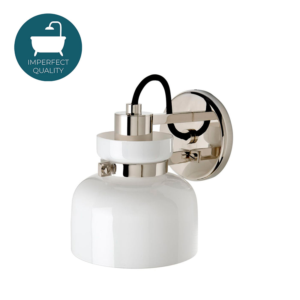 Waterworks Helio Wall Mounted Sconce in Nickel