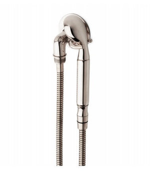 Waterworks Henry Handshower On Hook in Dark Brass