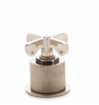 Waterworks Henry Volume Control Valve with Coin Edge Cylinder in Chrome