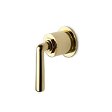 Waterworks Henry Volume Control Valve Trim in Unlacquered Brass