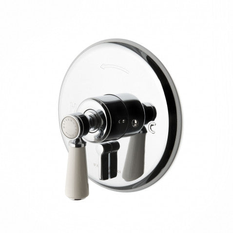 Waterworks Highgate Pressure Balance with Diverter Trim in Chrome