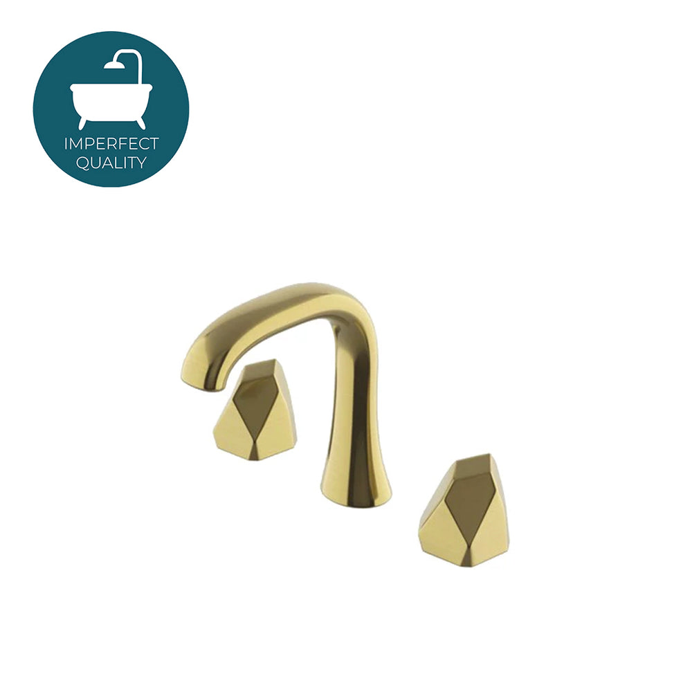 Waterworks Isla High Profile Lavatory Faucet in Burnished Brass