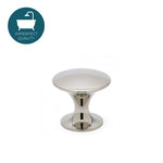 "Waterworks 1"" Martini Knob in Matte Nickel"