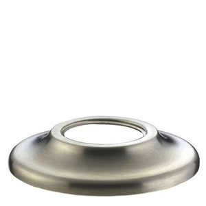 "Waterworks Steward 1 3/4"" Knob with Backplate in Burnished Nickel"