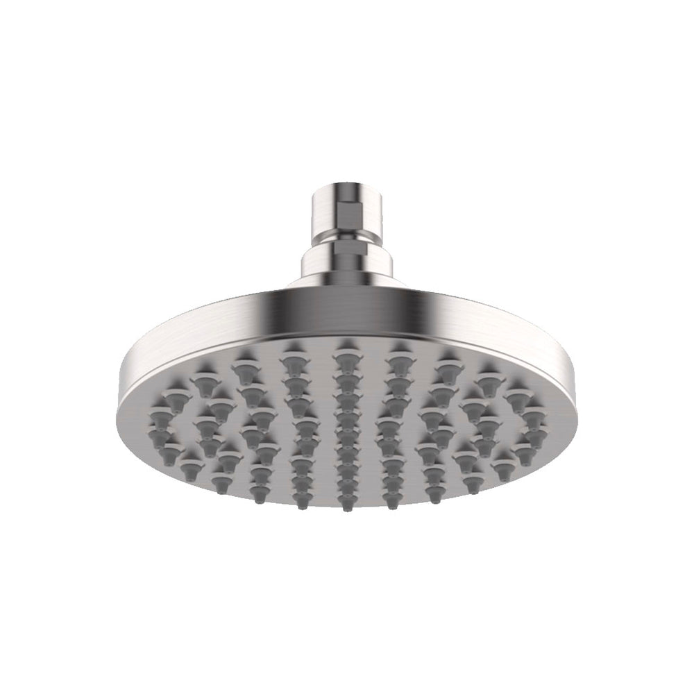 "Waterworks Universal 6"" Rain Shower Head in Matte Nickel"