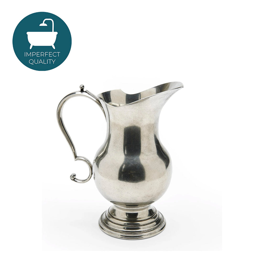 Waterworks Chamberlain Pitcher in Pewter