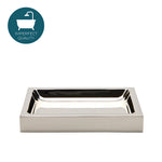 Waterworks Luster Soap Dish in Nickel
