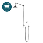 Waterworks Roadster Handshower with Diverter in Nickel