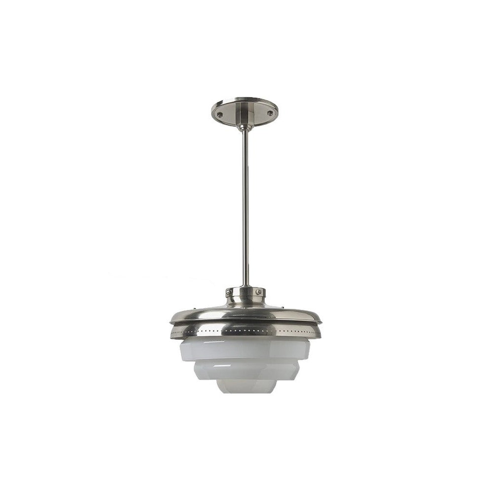 Waterworks R.W. Atlas Ceiling Mounted Pendant in Burnished Nickel