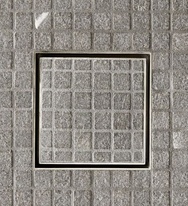 Waterworks Universal Shower Drain Cover Only in Carbon