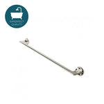 "Waterworks Formwork 24"" Single Metal Towel Bar in Nickel"