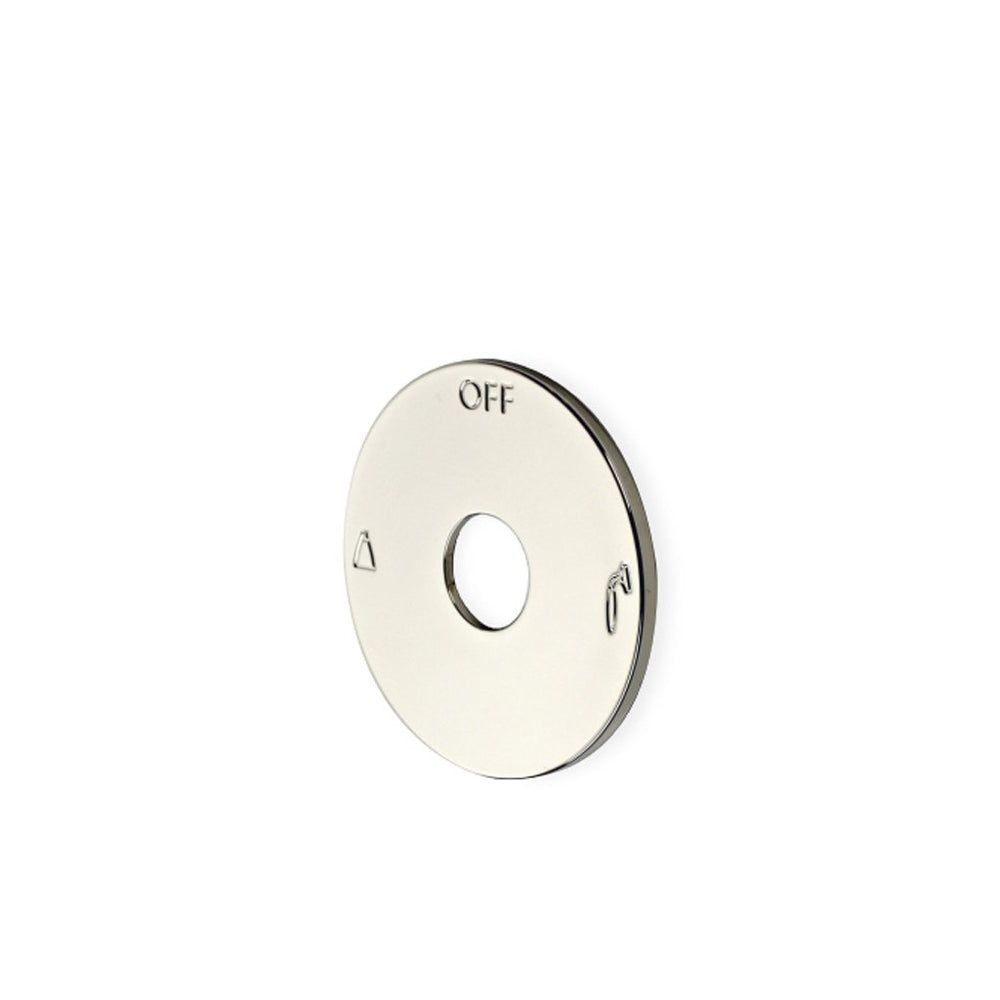 Waterworks Universal Two Way Thermostatic Diverter Valve Trim Plate in Architectural Bronze