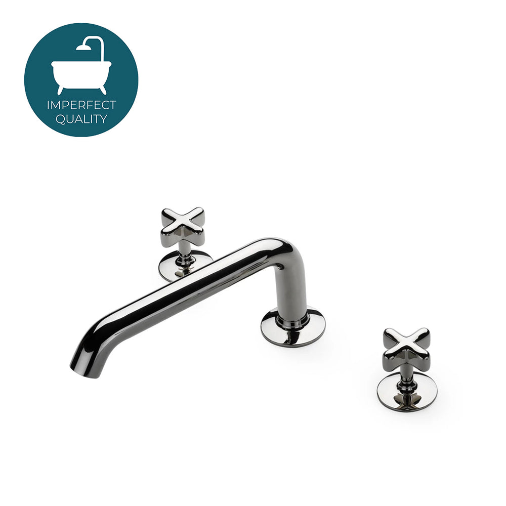 Waterworks .25 Low Profile Tub Faucet in Architectural Bronze