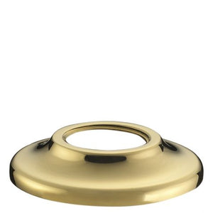Waterworks Boulevard One Hole Bidet Fitting in Unlacquered Brass