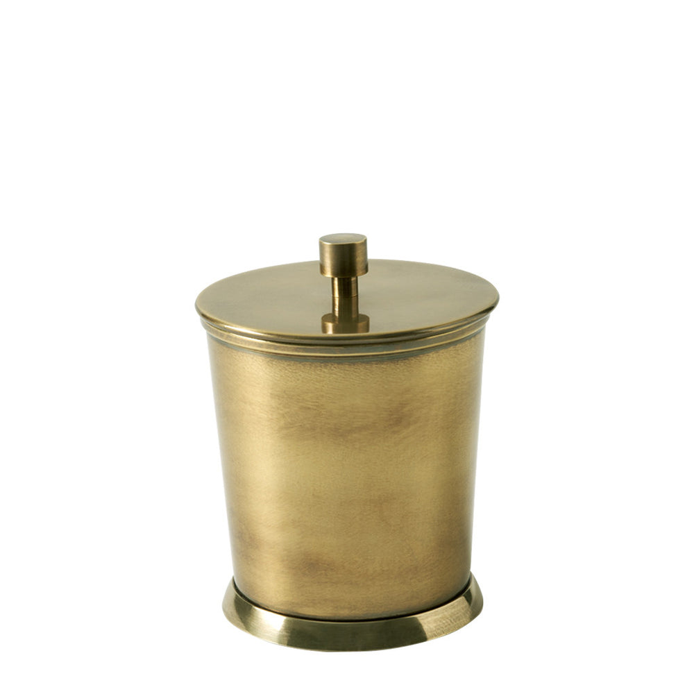 Waterworks Wallingford Container in Matte Brass