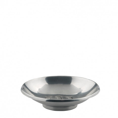 Waterworks Wallingford Soap Dish in Silver