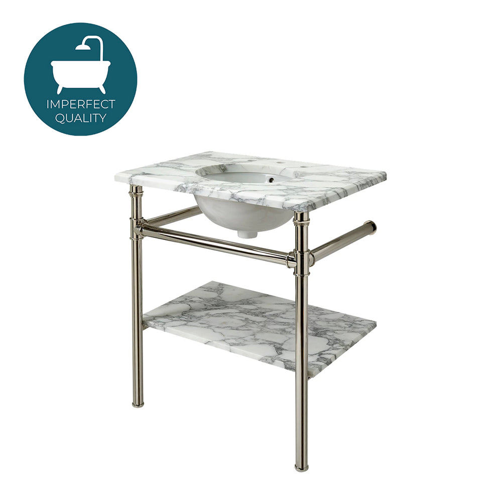 Waterworks Henry Washstand ONLY in Carbon