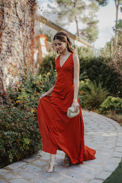Vestido Grace Cognac - FINAL SALE - FW18