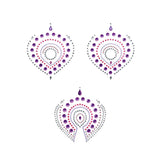 Flamboyant Skin Jewelry - Violet and Pink