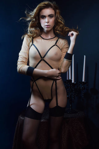 Black Magic Harness Suspender