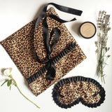 Leopard Lingerie Eye Mask Set