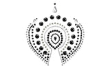 Flamboyant Skin Jewelry - Black and Grey