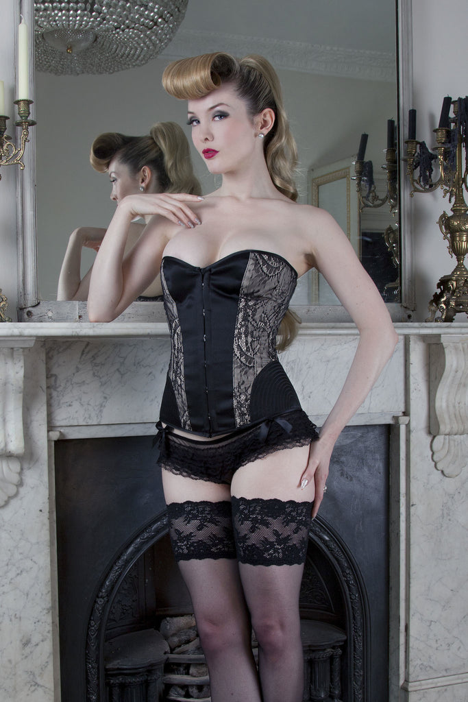 Temptation Lace and Vintage Stitch Corset