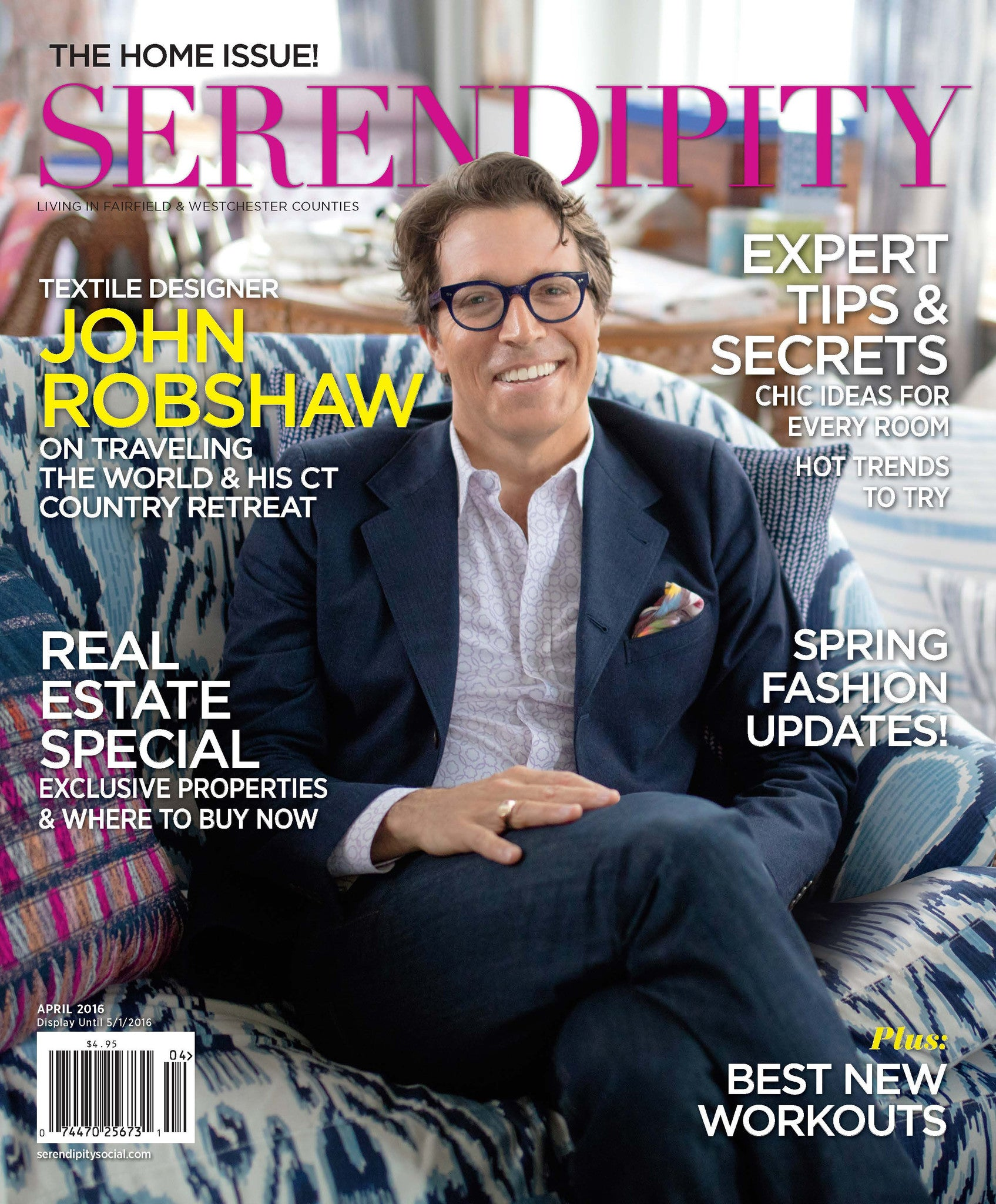 Serendipity | April 2016 | The Home Issue