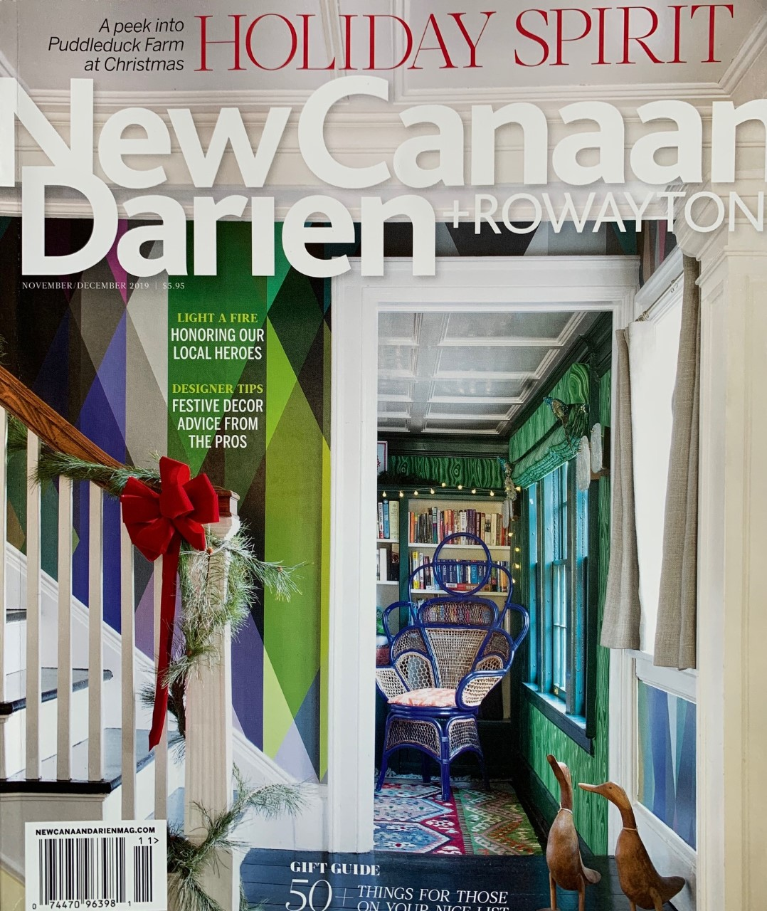 New Canaan, Darien + Rowayton Magazine Nov/Dec 2019