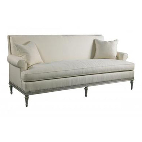 Norwalk Leather Sofa: Furnishings + Design