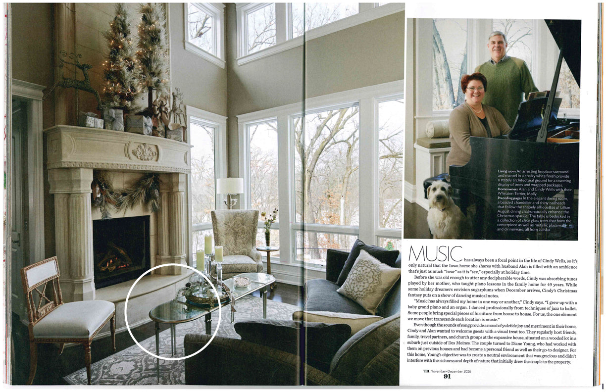 Traditional Home - 2017 - Lillian August - Furnishings + Design