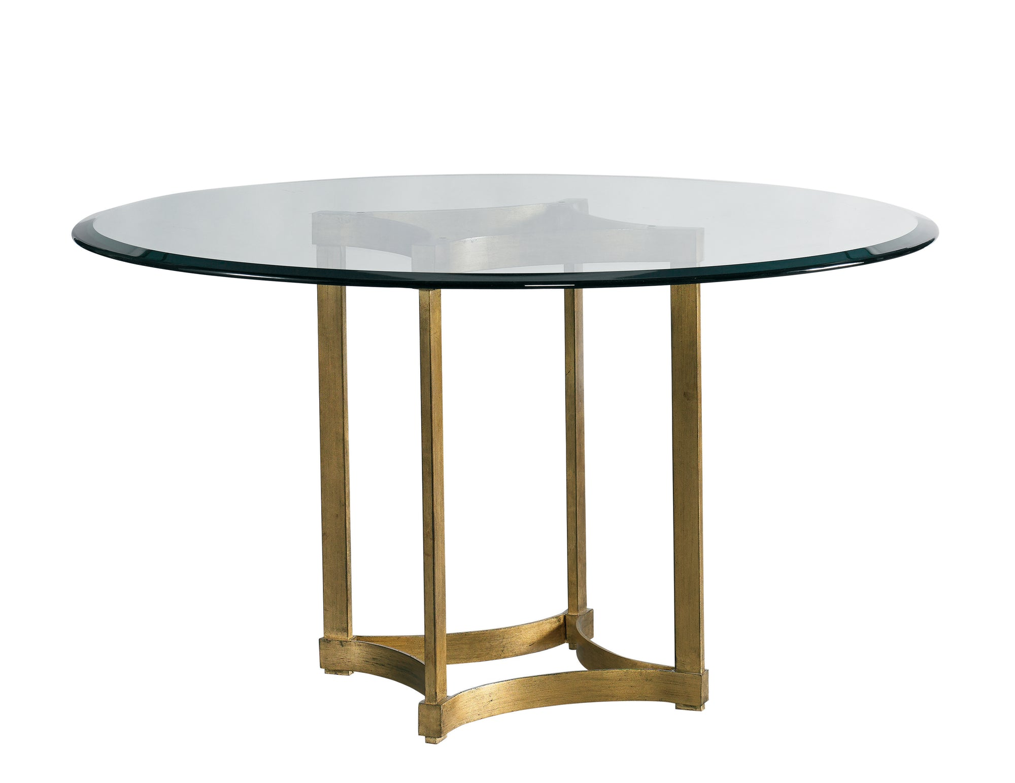 STELLA ROUND GOLD DINING TABLE