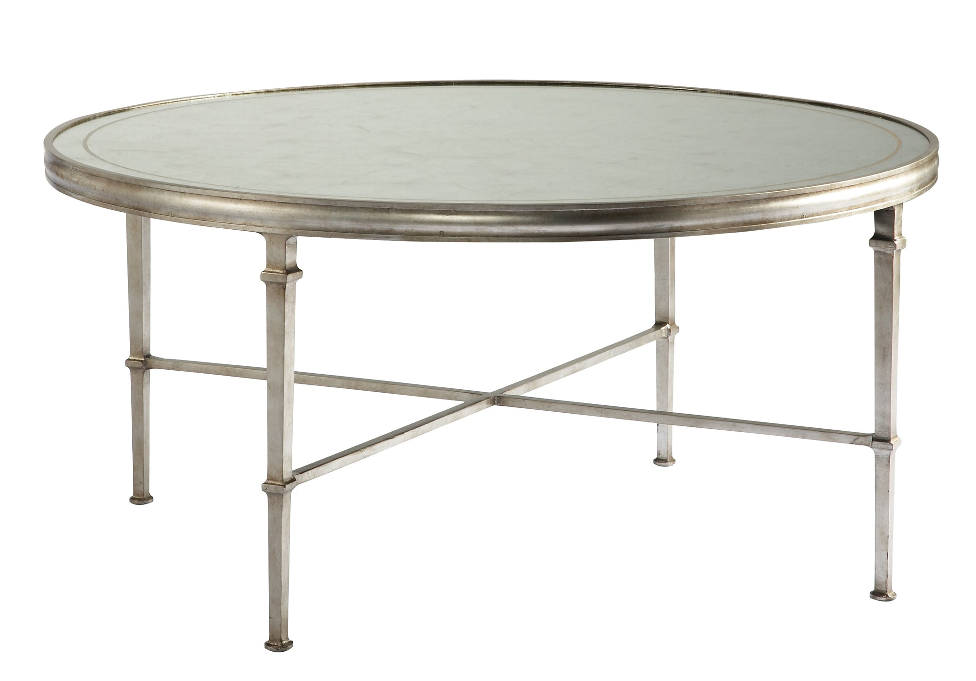 LOMBARD ROUND COCKTAIL TABLE