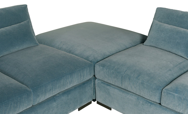CORSO 3 PIECE SECTIONAL (LA EXPRESS)