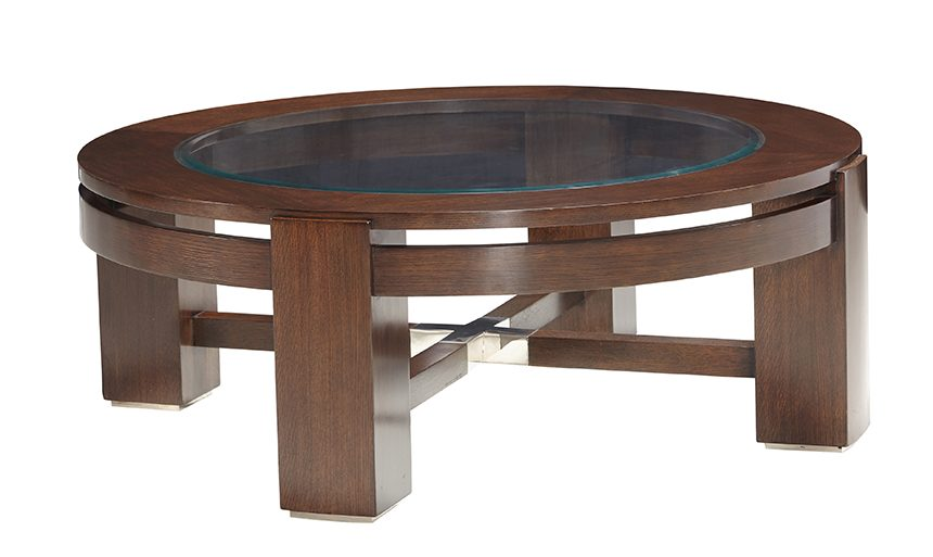 BROOKLINE ROUND COCKTAIL TABLE