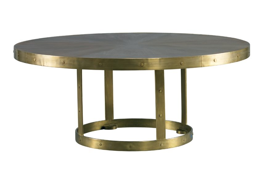 GRANT COCKTAIL TABLE - BRASS