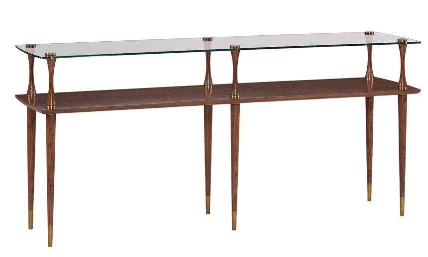 ADRIAN TAPERED LEG CONSOLE