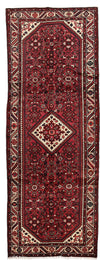 "Persian, Red Wool Runner - 3' 8"" x 10' 0"""