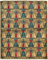 "Suzani, Multi Wool Area Rug - 5' 2"" x 6' 5"""