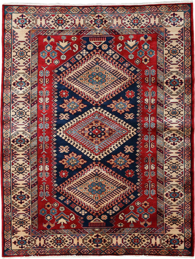 Classic Red Wool Area Rug 4 4 X 5 6 Lillian August