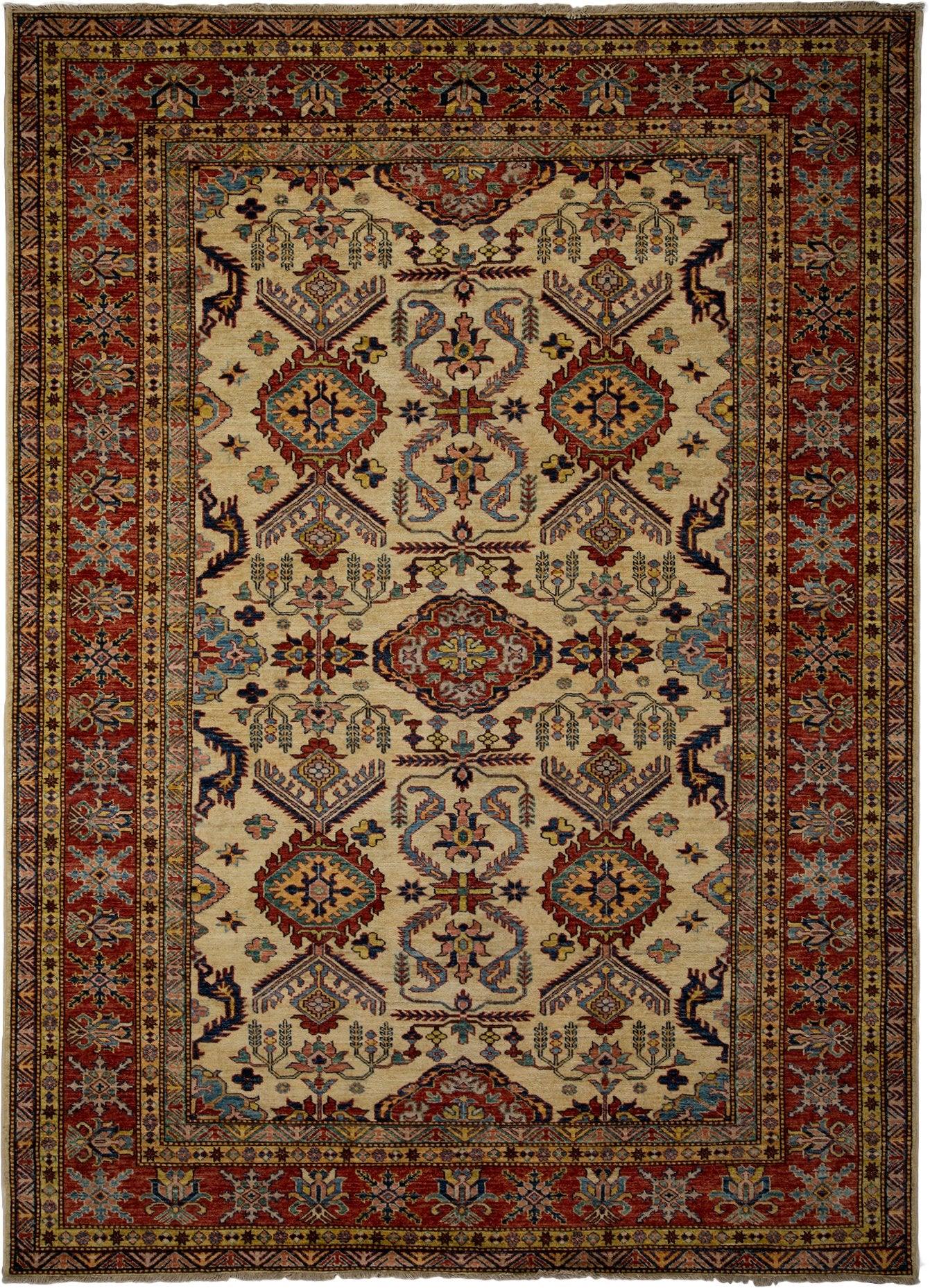 Classic Ivory Wool Area Rug 7 2 X 9 10 Lillian August