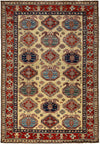 "Classic, Red Wool Area Rug - 5' 7"" x 8' 6"""