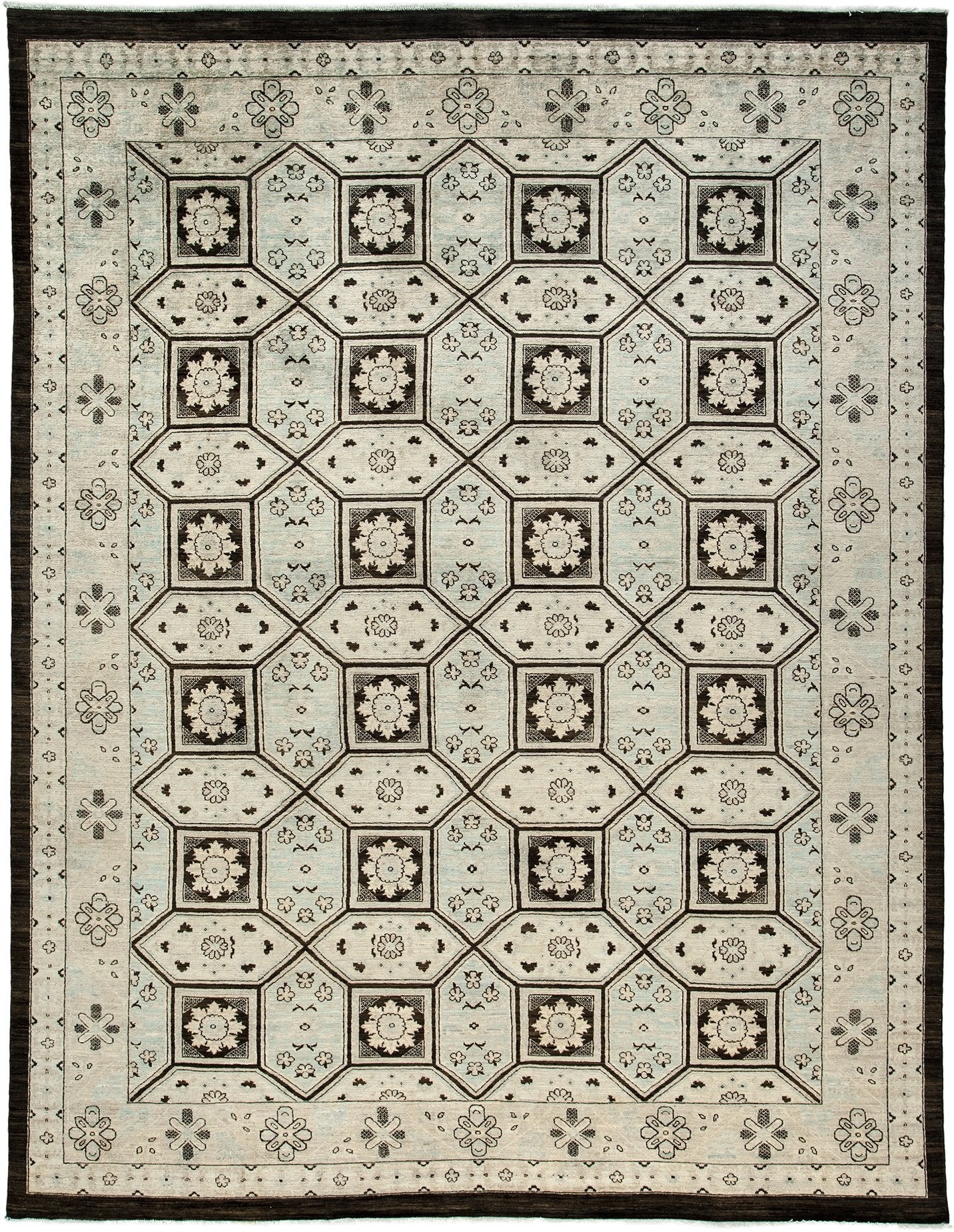 Classic Ivory Wool Area Rug 8 7 X 11 1 Lillian August