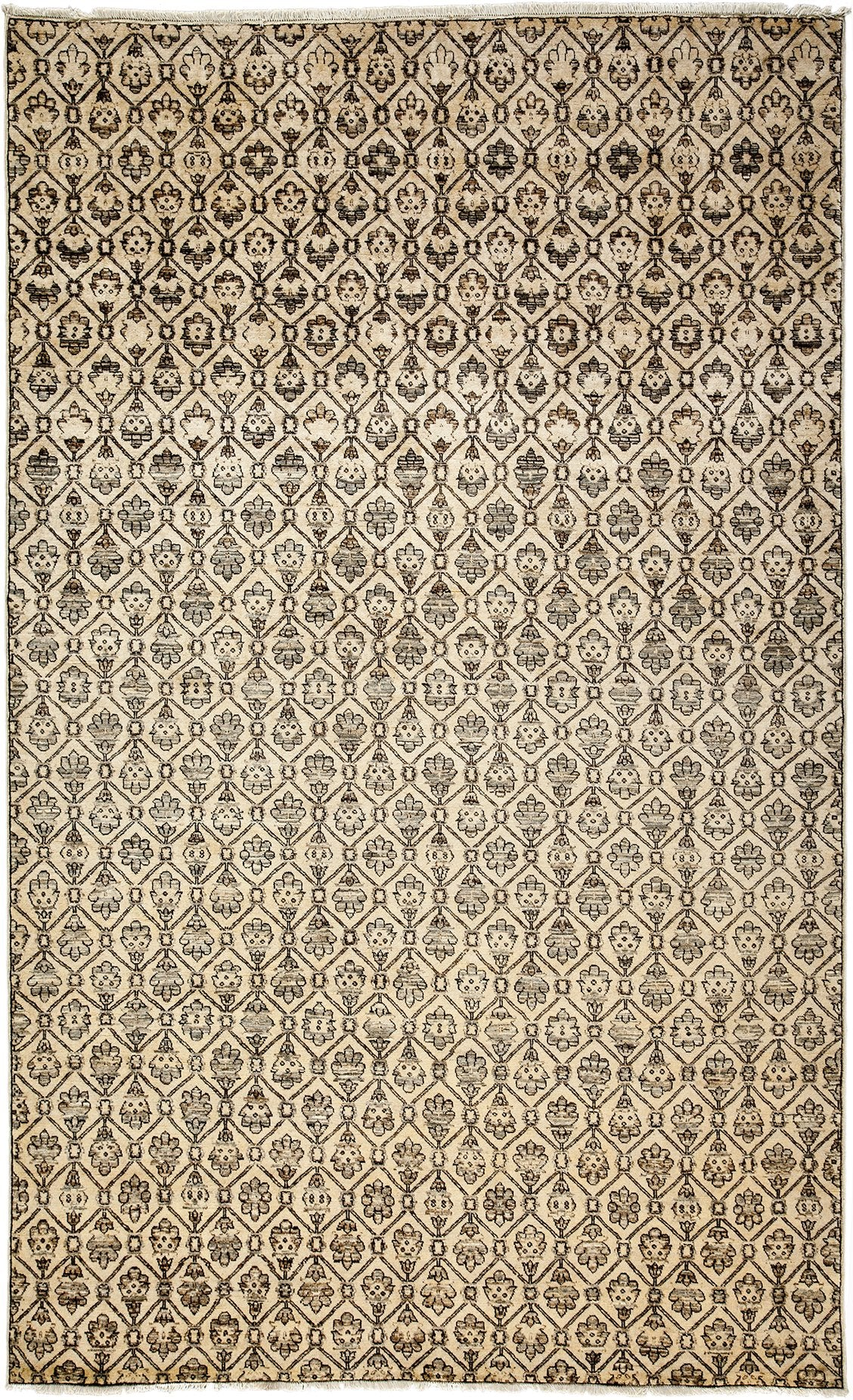 Classic Ivory Wool Area Rug 6 7 X 9 7 Lillian August